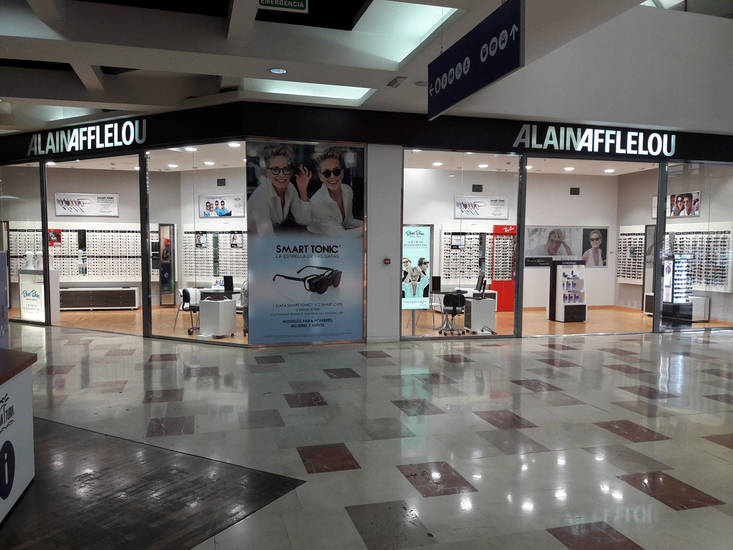 Óptica de Alain Afflelou en el centro comercial Gran Turia.
