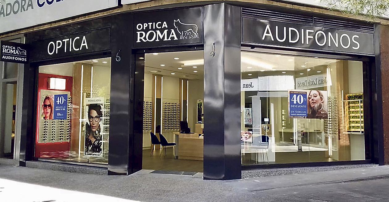 Establecimiento de Óptica Roma en Madrid. FOTO: Óptica Roma