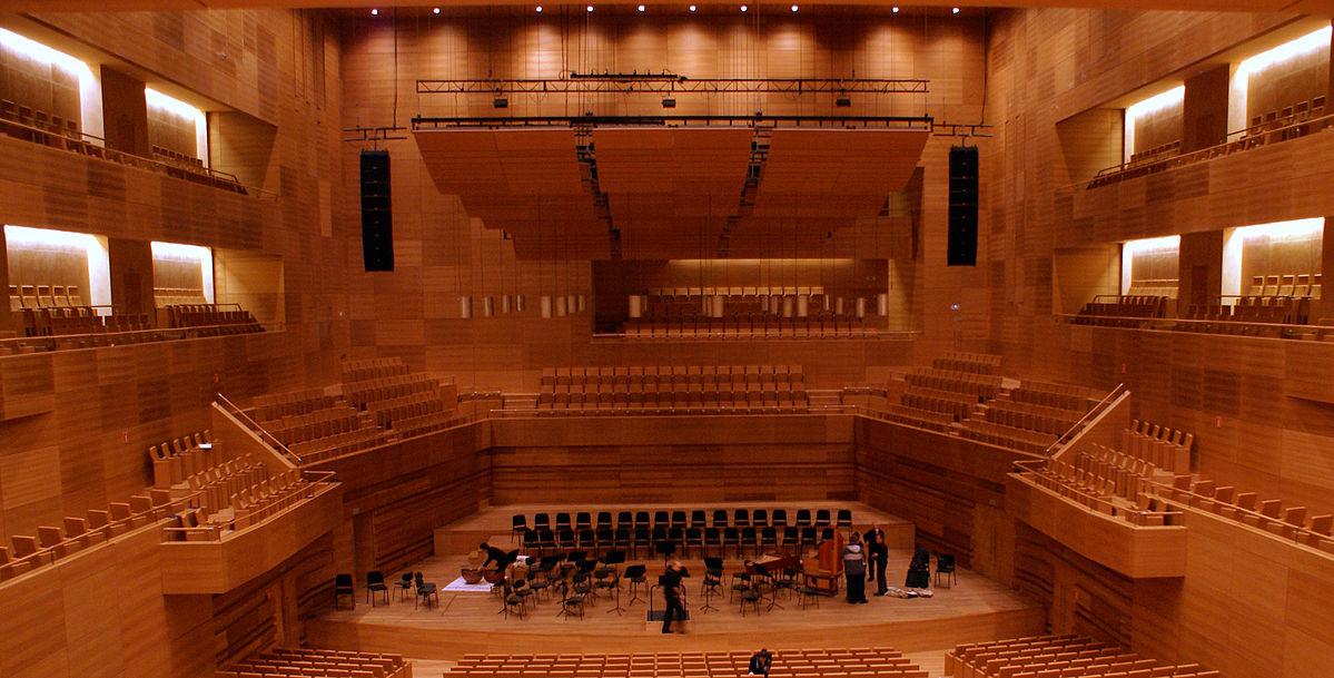 Centro Cultural Miguel Delibes en Madrid, donde se realizará el congreso de Optom.