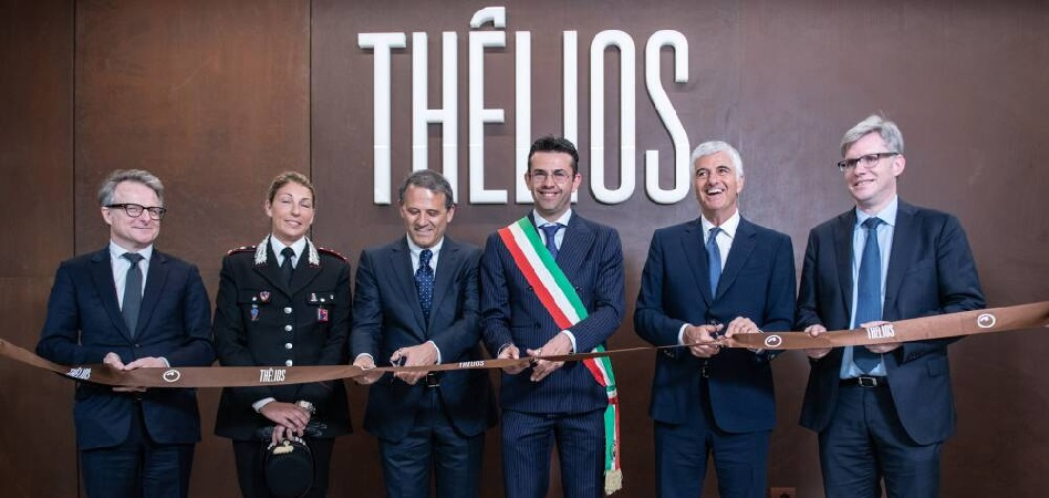 La foto corresponde a la inauguración de la fábrica de Thñelios, empresa de LVMH y Marcolin, el pasado abril.