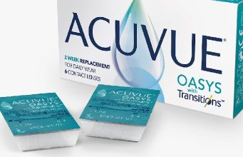 Acuvue Oasys con Transitions Light Intelligent Technology