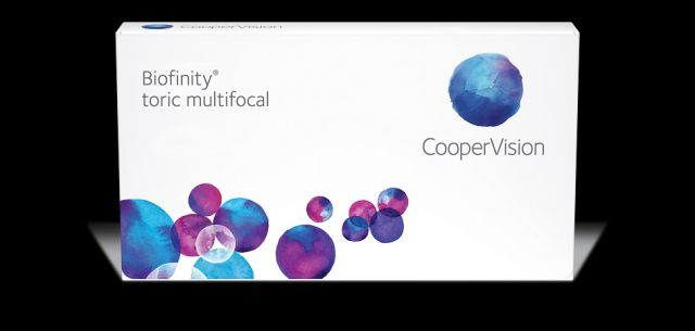 Coopervision/Biofinity multifocal